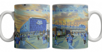 goodison going to the match mug